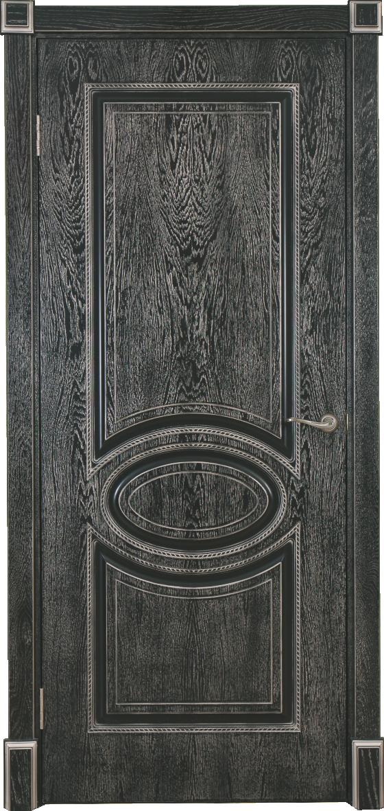 Дверь Верона 4 Черная патина