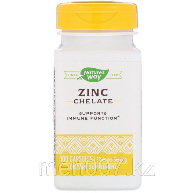 БАД Цинк хелатный 30 мг (100 капсул)