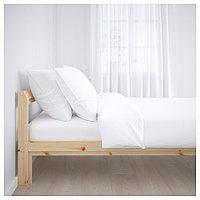 НЕЙДЕН Каркас кровати, сосна, Лурой, 140x200 см, фото 1
