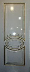 Дверь Верона 4 Эмаль белая
