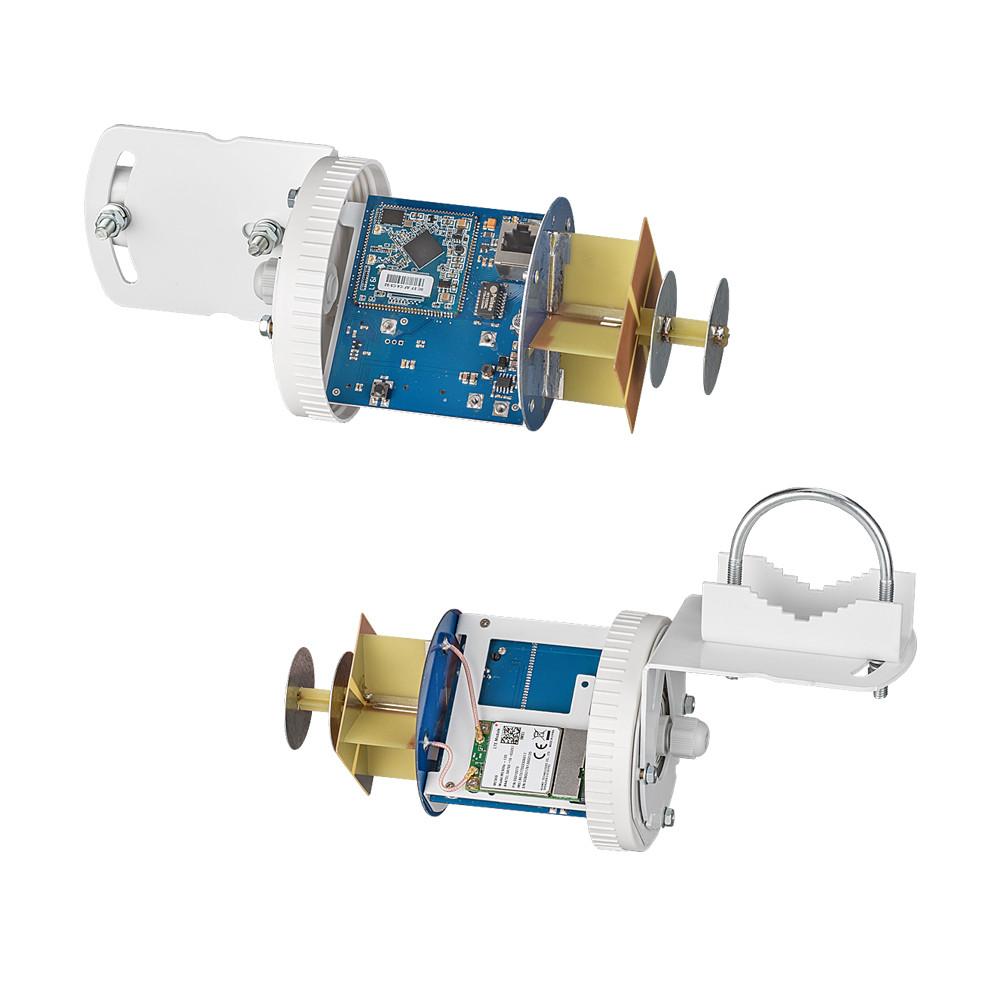 Роутер Kroks AP-221M3Q-Pot с PCI модемом Quectel EC25-E, встроенный в антенну - фото 7