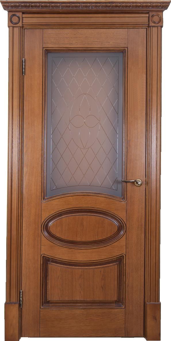 Дверь Валенсия медовый дуб ДО