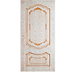 Дверь Флоренция 1 Патина орех
