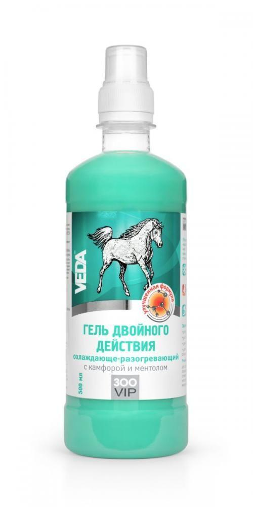 Гель охлаждающе-разогревающий для лошадей, Veda - 250 мл