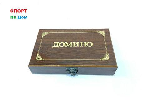 """Настольная игра для всей семьи """"Домино"""" в шкатулке, фото 2"""