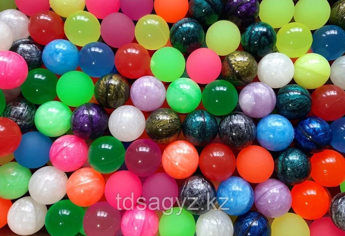 """Мячи-прыгуны """"Раскраска"""" 32 мм 100 шт/уп"""