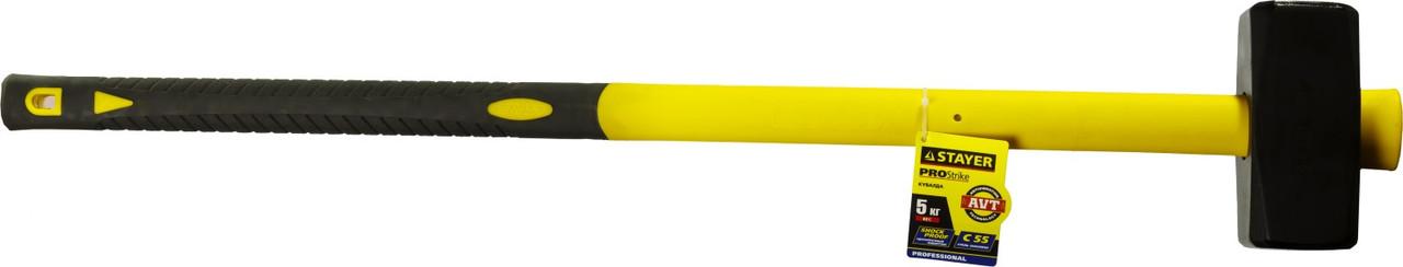 STAYER Fiberglass кувалда с фиберглассовой удлинённой рукояткой, 8 кг