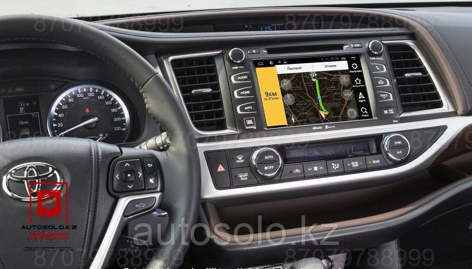 Toyota Highlander 2014 - 2018 Panasonic NAV-RDL01 NEW radiola