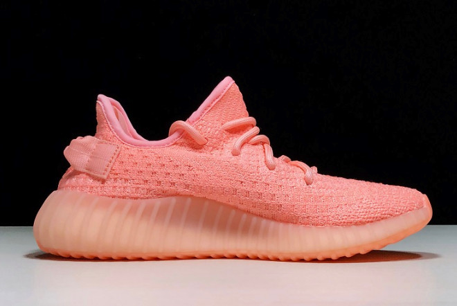 Adidas Yeezy Boost 350 V2 Static Refective Pink (36-45) - фото 2