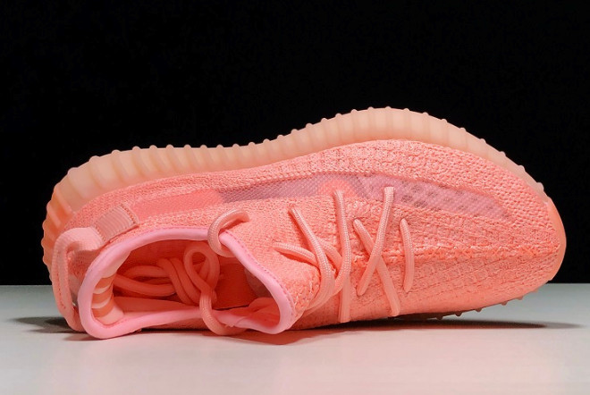 Adidas Yeezy Boost 350 V2 Static Refective Pink (36-45) - фото 6
