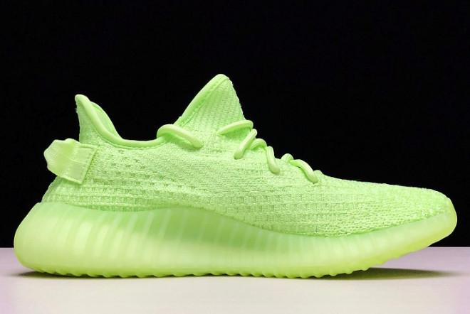 Adidas Yeezy Boost 350 V2 Glow in the Dark (36-45) - фото 2