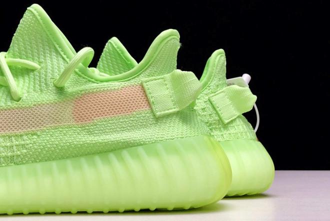 Adidas Yeezy Boost 350 V2 Glow in the Dark (36-45) - фото 7