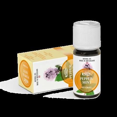 Масло Мята перечная сильный антисептик, используется при простуде, ОРВИ, гриппе