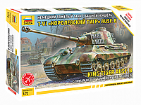 """Сборная модель Немецкий танк Е-VIB """"Королевский Тигр"""", сборка без клея, фото 1"""