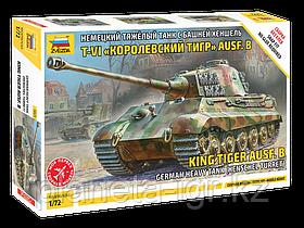 """Сборная модель Немецкий танк Е-VIB """"Королевский Тигр"""", сборка без клея"""