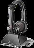 Беспроводная гарнитура Poly Plantronics Savi 8220 UC, Stereo, Microsoft (209214-02)