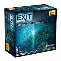 Настольная игра EXIT-КВЕСТ. Затонувшие сокровища, фото 1