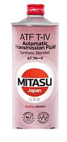 Трансмиссионное масло MITASU ATF T-IV 1литр