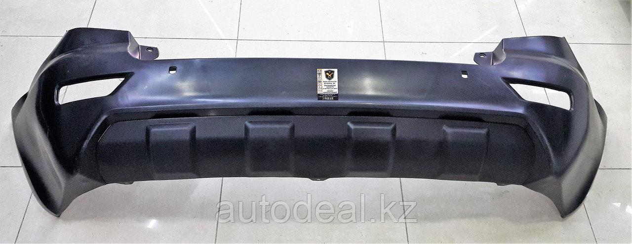 Бампер задний (дорестайлинг) Lifan X60 / Rear bumper(before restyle)
