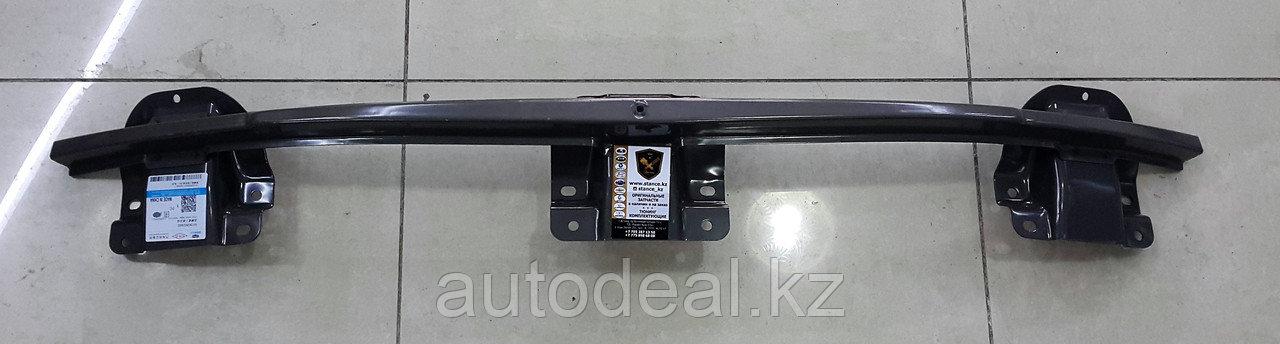 Усилитель переднего бампера (верхняя пластина) бампера Geely X7 / Front bumper strengthener top side