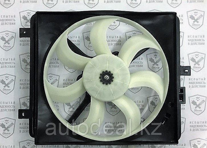 Диффузор с вентилятором правый Geely GC6 / Fan diffuser right side