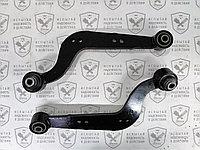 Рычаг задней подвески продольный правый (банан) SAT Geely X7 / Rear suspension trailing arm right side (banana)