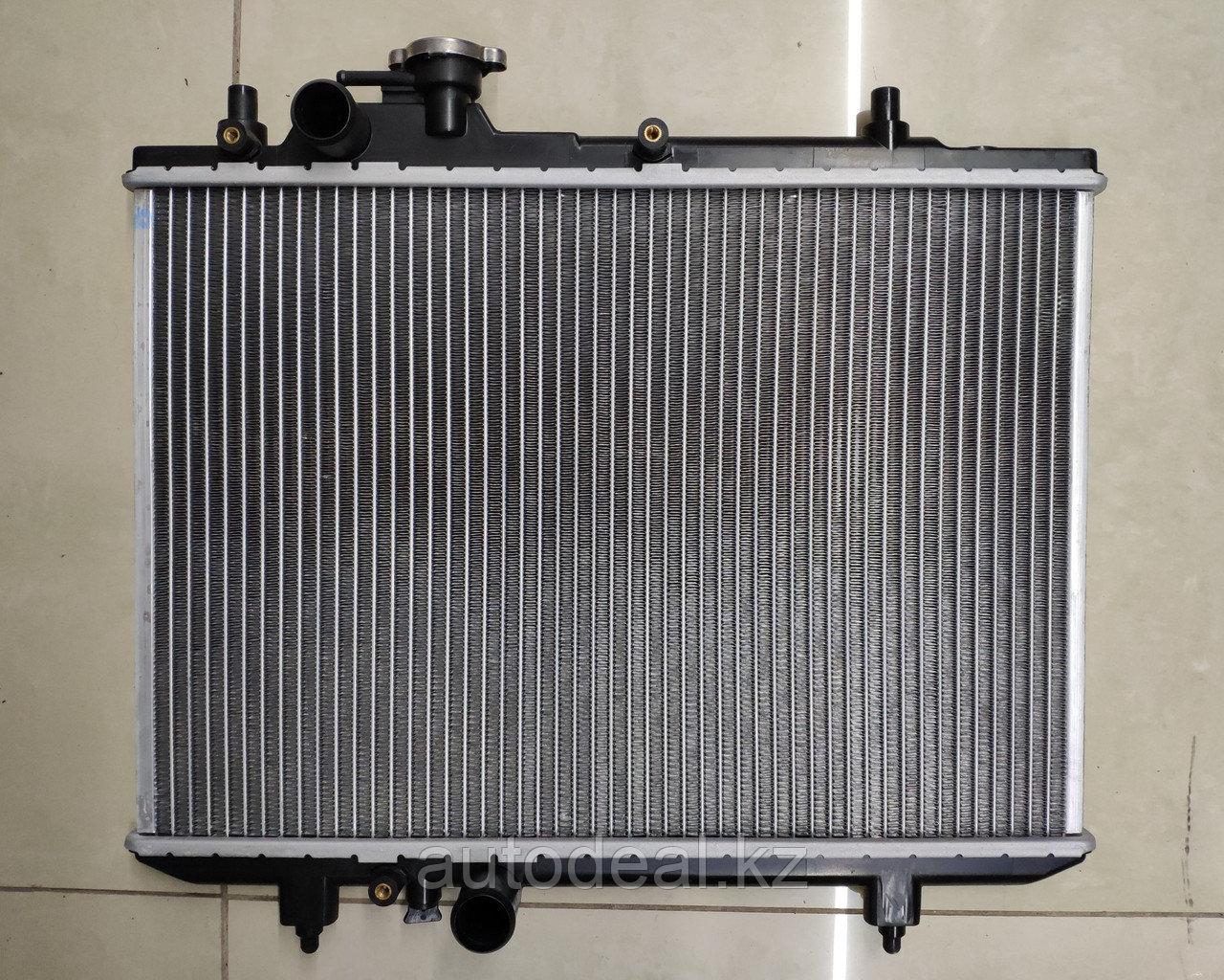 Радиатор охлаждения основной Lifan Smily / Main сooling radiator aluminium