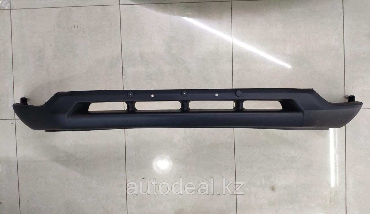 """Нижняя часть переднего бампера """"Губа"""" (2-е поколение 4 отверстия) JAC S3  / Front bumper inder cover (2 generation 4 hole)"""