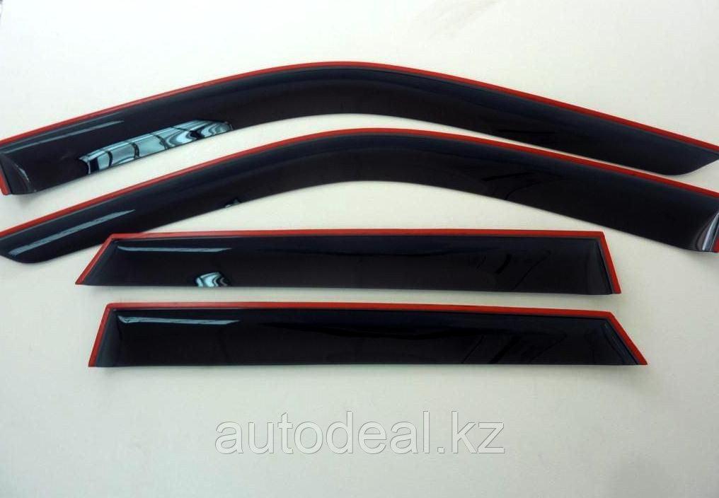 Дефлекторы оконо Lifan X50 / Window deflector