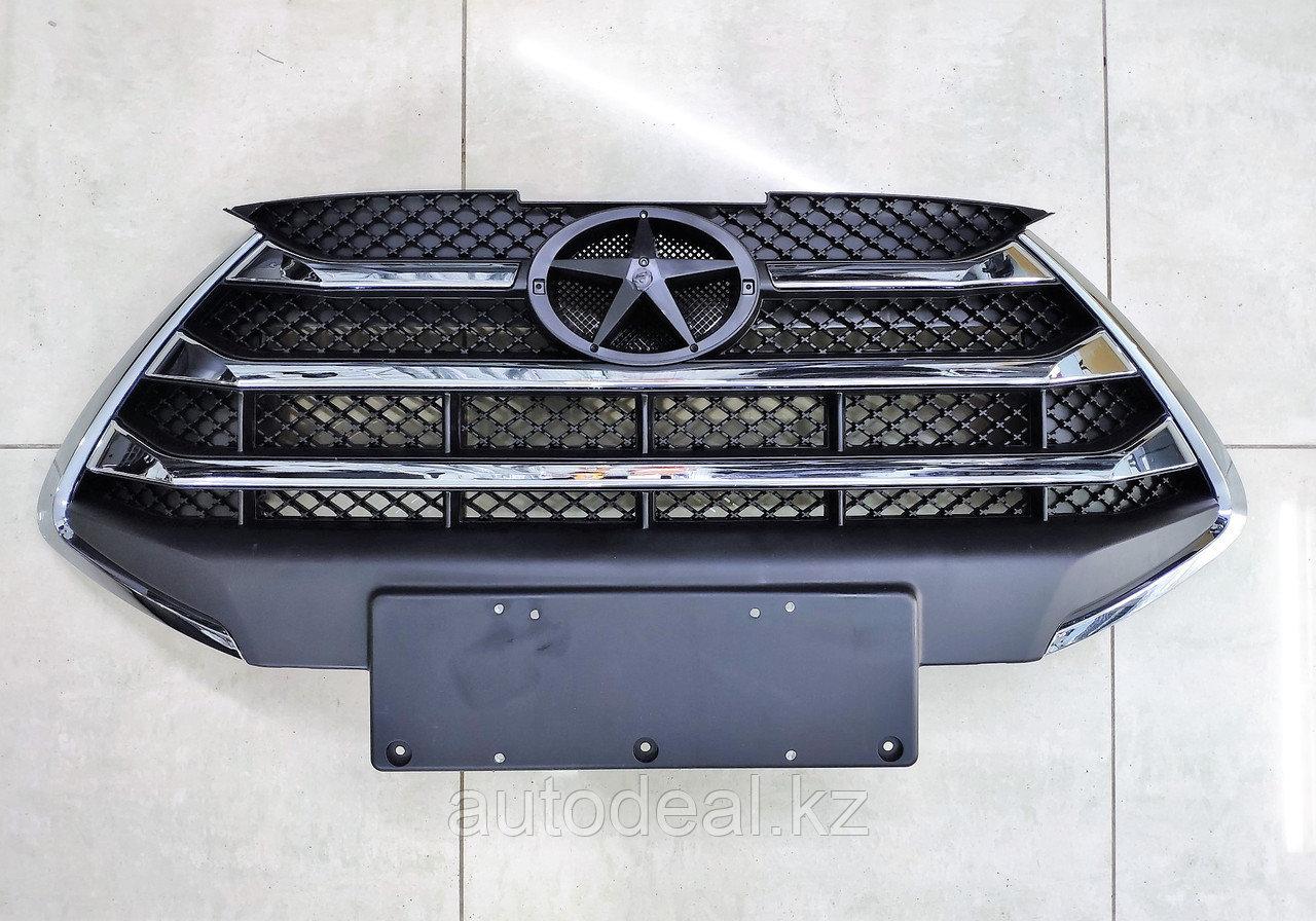 Решетка радиатора (II поколение без эмблемы) JAC S3  / Bumper grille (2 generation w/o nameplate)
