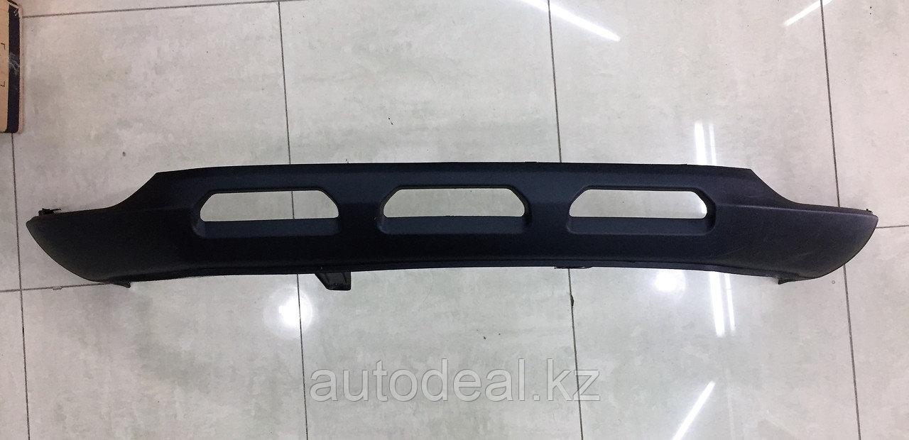 """Нижняя часть переднего бампера """"Губа"""" (1-е поколение 3 отверстия) JAC S3  / Front bumper inder cover (1"""