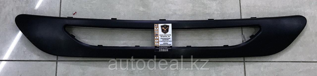 Накладка заднего бампера (центральная) JAC S3 / Rear bumper molding (central)