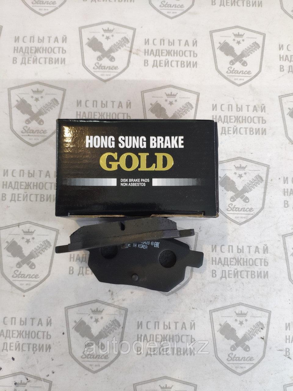 Колодки тормозные задние Lifan X50/JAC S3 / Rear brake pads