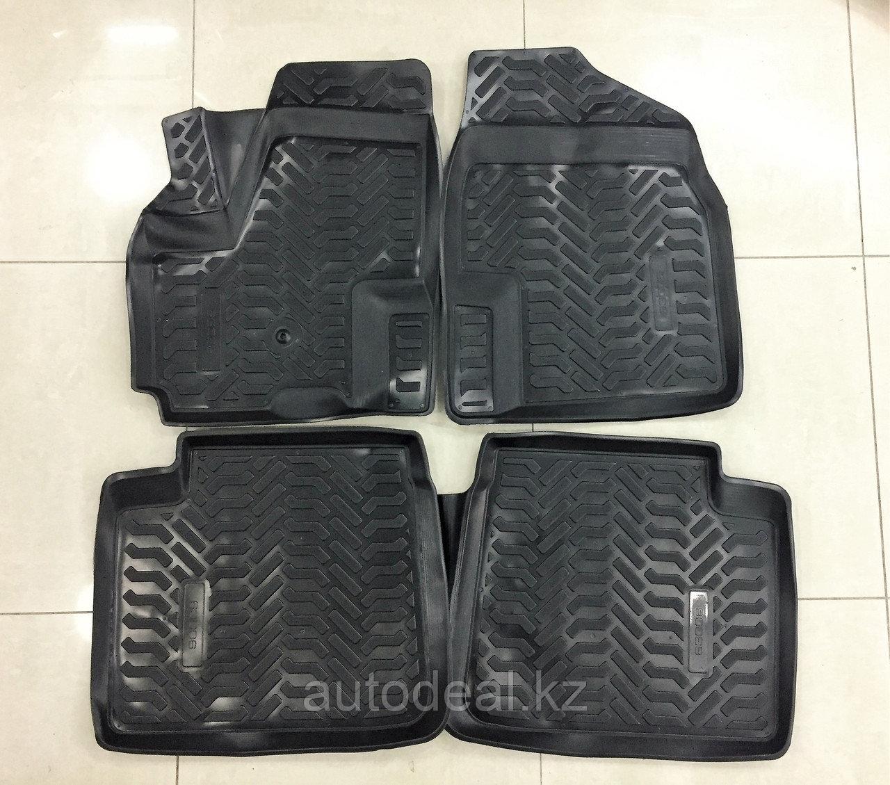 Коврики в салон полиуретан (Aleron) Lifan X60  / Vrhicle floor mats polyurethane