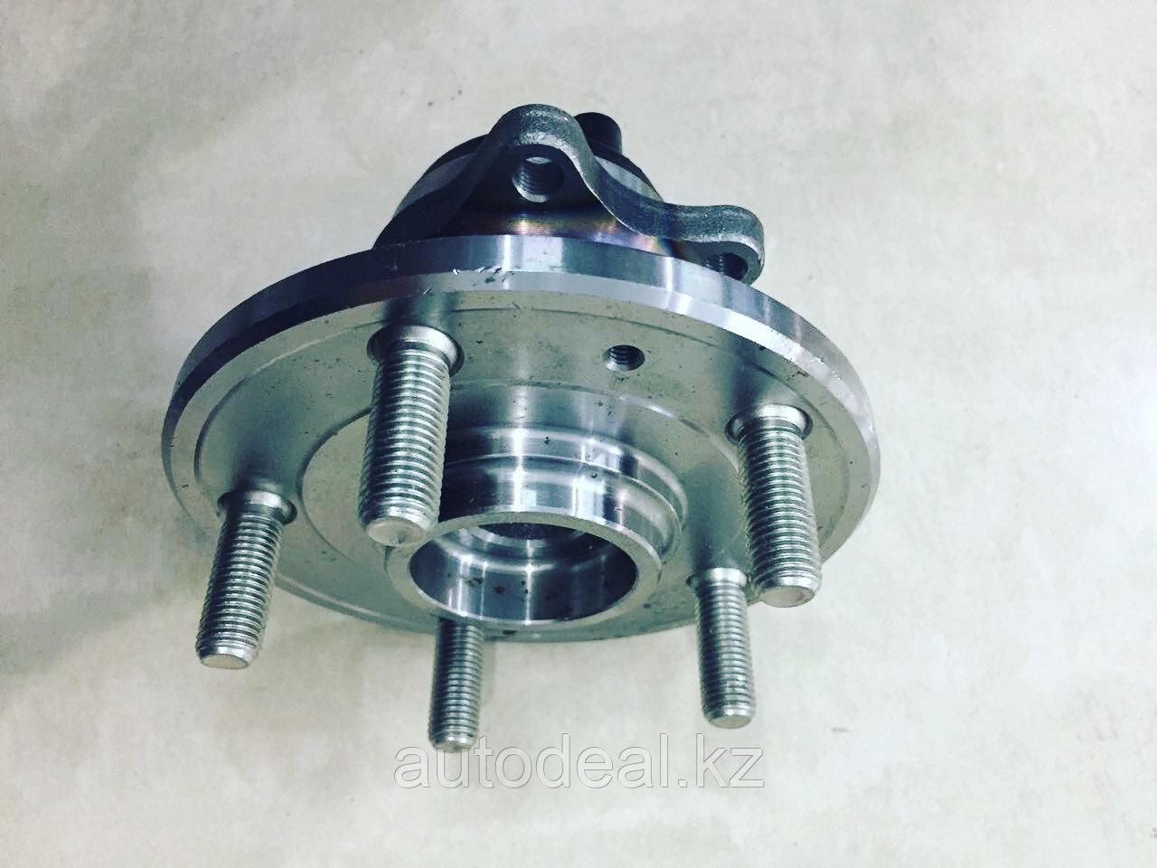 Ступица задняя (в сборе с подшипником, с АБС) JAC S3 / Rear wheel hub assembly with bearing