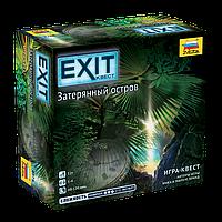 Настольная игра EXIT-КВЕСТ. Затерянный остров, фото 1
