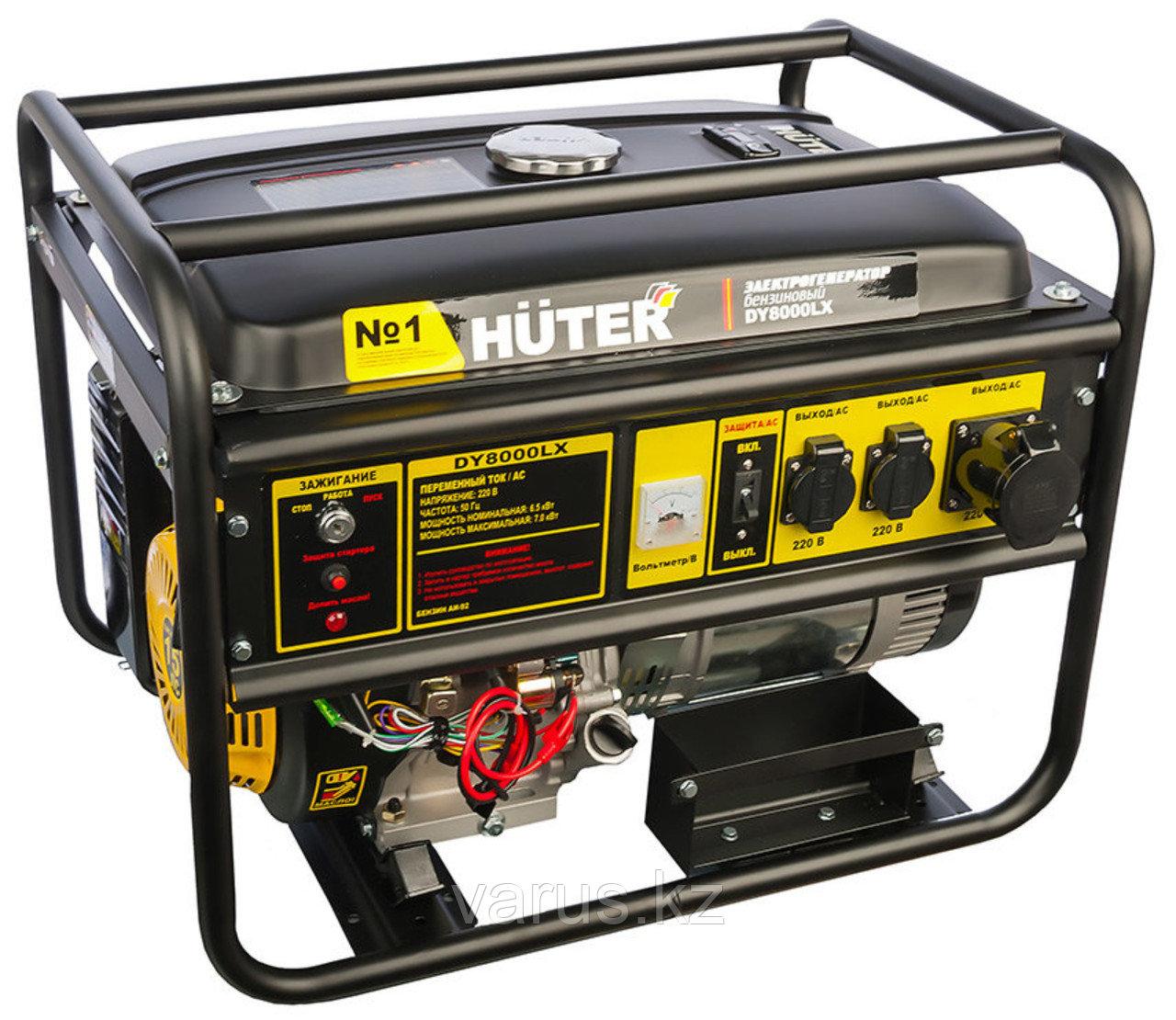Электрогенератор бензиновый DY8000LX со стартером