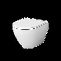 Унитаз подвесной безободковый FlashClean AM.PM Spirit 2.0 C701700WH, с сиденьем
