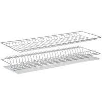 Комплект посудосушителей с поддоном 76,5x25,6 см, для шкафа 80 см, хром