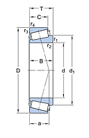 LM 503349/310/Qcl7c   подшипник  SKF