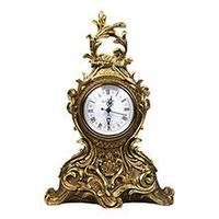 Royal Flame Каминные часы Классика Вензель RF2006AB