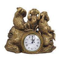 Royal Flame Каминные часы Ничего не вижу, не слышу, не скажу RF2010AB, фото 1