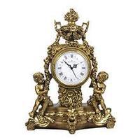 Royal Flame Каминные часы Классика с ангелами RF2015AB