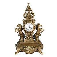 Royal Flame Каминные часы Дворцовые с лошадьми RF2027AB