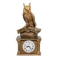 Royal Flame Каминные часы Сова на книгах RF2031AB