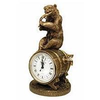 Royal Flame Каминные часы Медведь с добычей RF2045AB