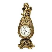 Royal Flame Каминные часы Фаберже с ангелом RF2050AB, фото 1