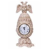 Royal Flame Каминные часы Фаберже Державные RF2053 IV (Белая коллекция), фото 1