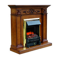 Royal Flame Портал Verona (дуб антик) под классический очаг, фото 1