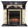 Royal Flame Портал Dublin угловой арочный сланец под очаги Fobos / Majestic FX